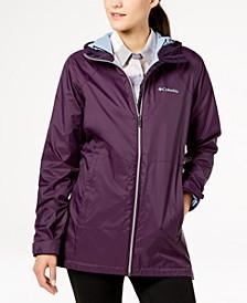 Long Lined Rain Jacket