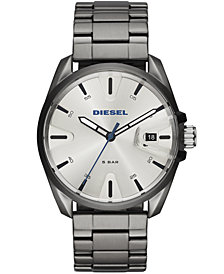 Diesel Men's MS9 Gunmetal Stainless Steel Bracelet Watch 44mm