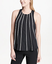 Calvin Klein Striped Shell