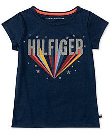 Tommy Hilfiger Big Girls Super Girl Cotton T-Shirt