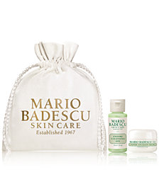 Receive a FREE 3pc Skin Care Gift with $25 Mario Badescu Purchase