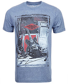 Univibe Men's Graphic Guitar T-Shirt