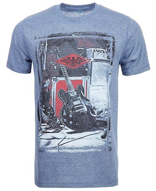 Univibe Guitar Men's T-Shirt by Univibe