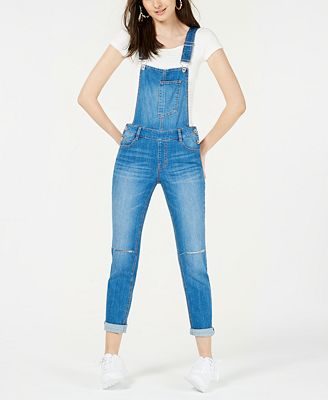 Dollhouse Juniors Skinny Denim Overalls Created For Macy S Jeans