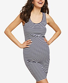 Motherhood Maternity Ribbed Sheath Dress