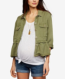 Maternity Peplum Jacket