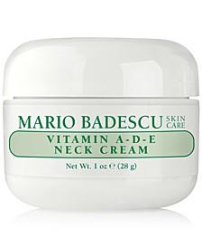 Vitamin A-D-E Neck Cream, 1-oz.