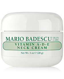 Mario Badescu Vitamin A-D-E Neck Cream, 1-oz.