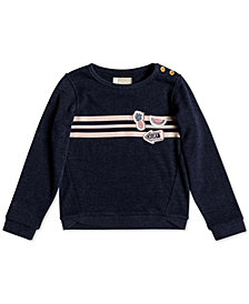 Roxy Toddler Girls Striped Sweatshirt