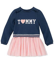 Tommy Hilfiger Little Girls French Terry Tutu Dress