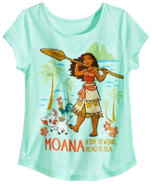 Disney Little Girls Moana TShirt
