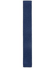 BOSS Men's Straight-Cut Knitted Silk Tie