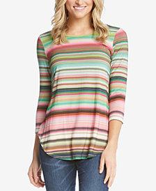 Karen Kane Striped T-Shirt