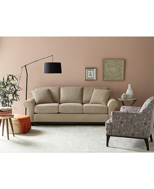 Awesome Medland Fabric Sofa Collection Created For Macys Caraccident5 Cool Chair Designs And Ideas Caraccident5Info
