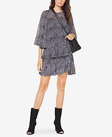 MICHAEL Michael Kors Printed Woven A-Line Skirt, Regular & Petite