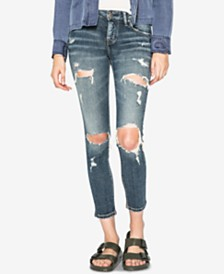 Silver Jeans Co. Kenni Slim Ankle Jeans