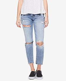 Silver Jeans Co. Sam Ripped Boyfriend Jeans