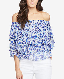 RACHEL Rachel Roy Tiered Off-The-Shoulder Top, Created for Macy's