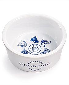 Harry Barker Kennel Club Dog Ceramic Bowl