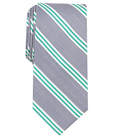 Nautica Men's Holland Stripe Slim Silk Tie