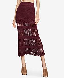BCBGMAXAZRIA Crochet Maxi Skirt