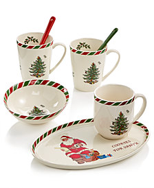 Spode Candy Cane Dinnerware Collection, Created for Macy's