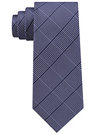 Michael Kors Men's Plaid Silk Tie