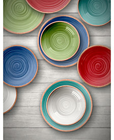 TarHong Rustic Swirl Dinnerware Collection