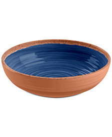TarHong 4-Pc. Rustic Swirl Bowls Set