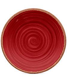 TarHong 4-Pc. Rustic Swirl Salad Plates Set