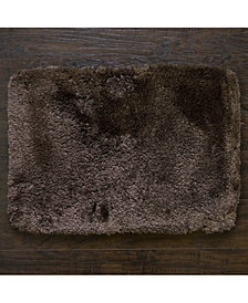 "Popular Bath St. Lucia 17"" x 24"" Faux-Fur Bath Rug"