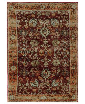 "Journey Viva Red 2' 6"" x 12' Runner"