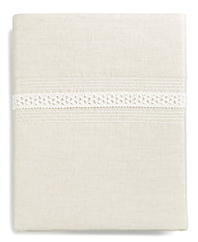 Hotel Collection Madison Hemstitch King Flat Sheet, Created for Macy's