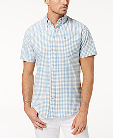 Tommy Hilfiger Men's Quin Plaid Shirt