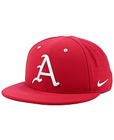 Arkansas Razorbacks Aerobill True Fitted Baseball Cap