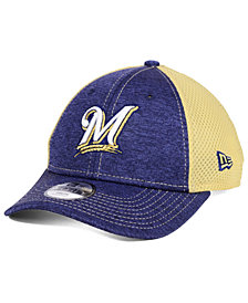 New Era Boys' Milwaukee Brewers Turn 2 9FORTY Cap