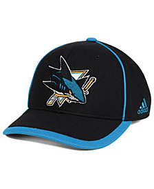 adidas San Jose Sharks Clipper Adjustable Cap