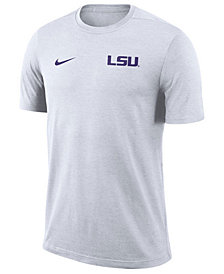 Nike Men's LSU Tigers Dri-Fit Coaches T-Shirt