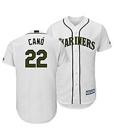 Majestic Men's Robinson Canó Seattle Mariners USMC Cool Base Jersey