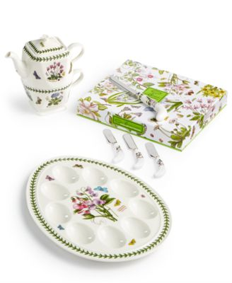 Dinnerware, Botanic Garden Footed Cake Stand with Server
