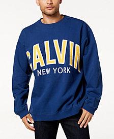 Calvin Klein Jeans Men's Varsity-Style Logo Sweatshirt