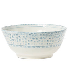 VIETRI Mosaico Blu Deep Serving Bowl