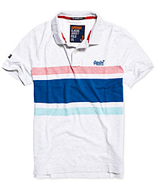 Superdry Men's Hardwick Striped Polo