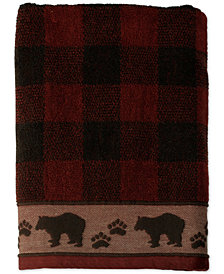 Saturday Knight Sundance Cotton Plaid Jacquard Bath Towel