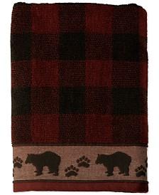Saturday Knight Sundance Cotton Plaid Jacquard Bath Towel