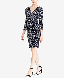 Lauren Ralph Lauren Jersey Sheath Dress, Regular & Petite Sizes