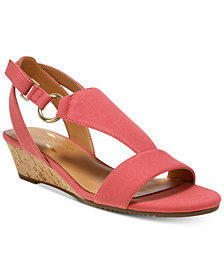 Aerosoles Creme Brulee Wedge Sandals