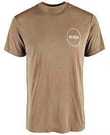 RVCA Men's Tri Logo Graphic T-Shirt