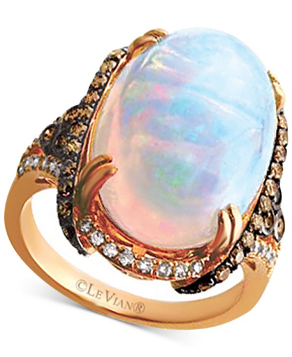 Le Vian Opal (6 1/2 ct. t.w.) & Diamond (3/4 ct. t.w.) in 14k Rose Gold