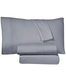 LINCEL 4-Pc. Tencel and Linen Blend  Queen Sheet Set
